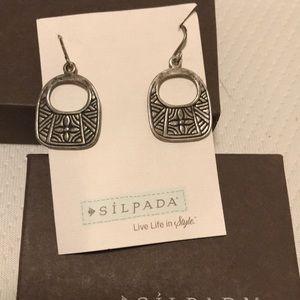 Sterling silver Silpada earrings
